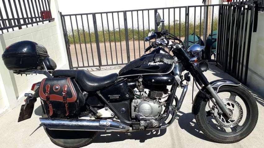 Honda phantom 200 cc excellent condition 55000 bahts