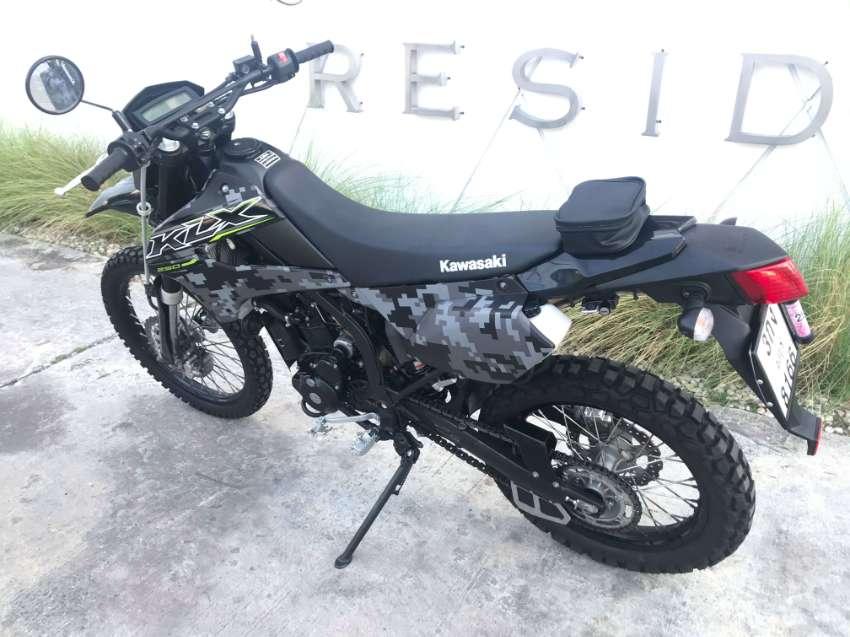 Kawasaki KLX 250-2018 Matrix Special Edition