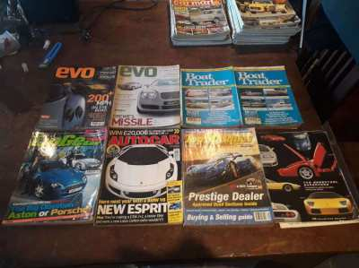Car Magazines 24 Issues