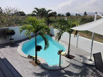 One of Kind Two Storey 3 BR 3 Bath Pool Villa Awesome Mountain Views
