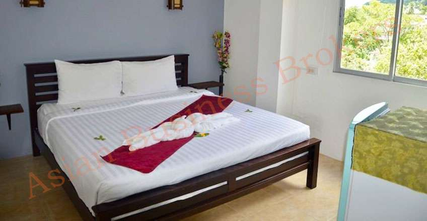 1801005 18 Rooms Hotel with License near Ao Nang Beach, Krabi for Sale
