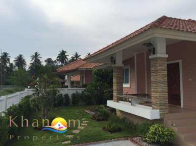 LAST 6 remaining !!! BRAND NEW 2 bed house close to khanom beach