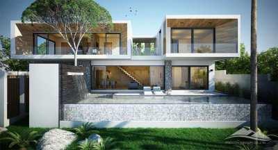 Brand new Pool Villa for Sale at Kamala-Phuket