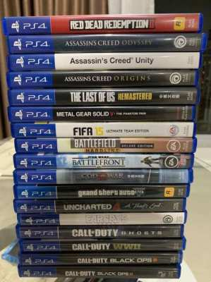 PS4 Games -  17 Games