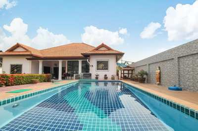 Large 3 Bed Pool Villa On 800 Sq.M. Land - Huai Yai