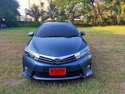 Release car of TOYOTA ALTIS 1.8 S year 2014, free down front airbag