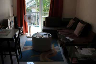 1 bedroom in Park Lane Jomtien. Pool view, foreign name, well designed