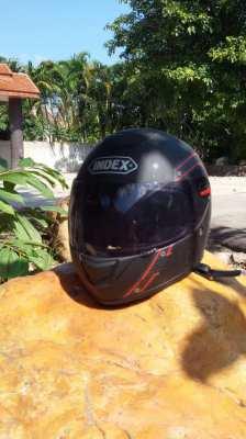 Childs size large Index helmet