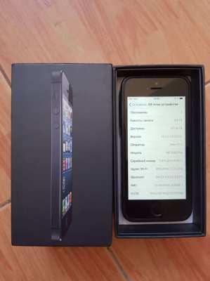 Apple iPhone 5s - 64GB - Black (Unlocked) MF358ZP/A (A1530)