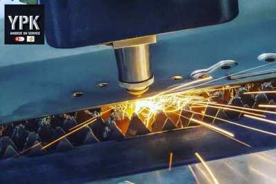 Laser cutting, folding, welding