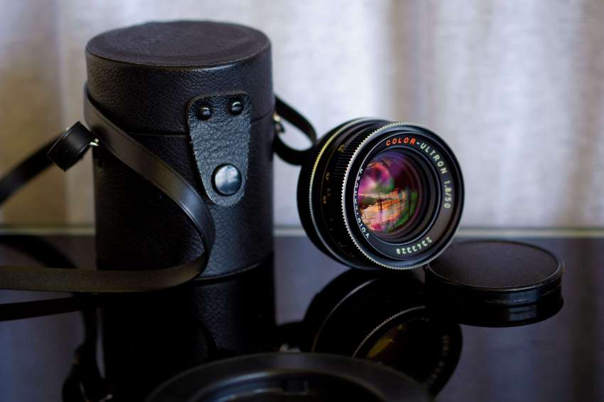 Voigtlander Color-Ultron 50mm F1.8 MF Lens with Box