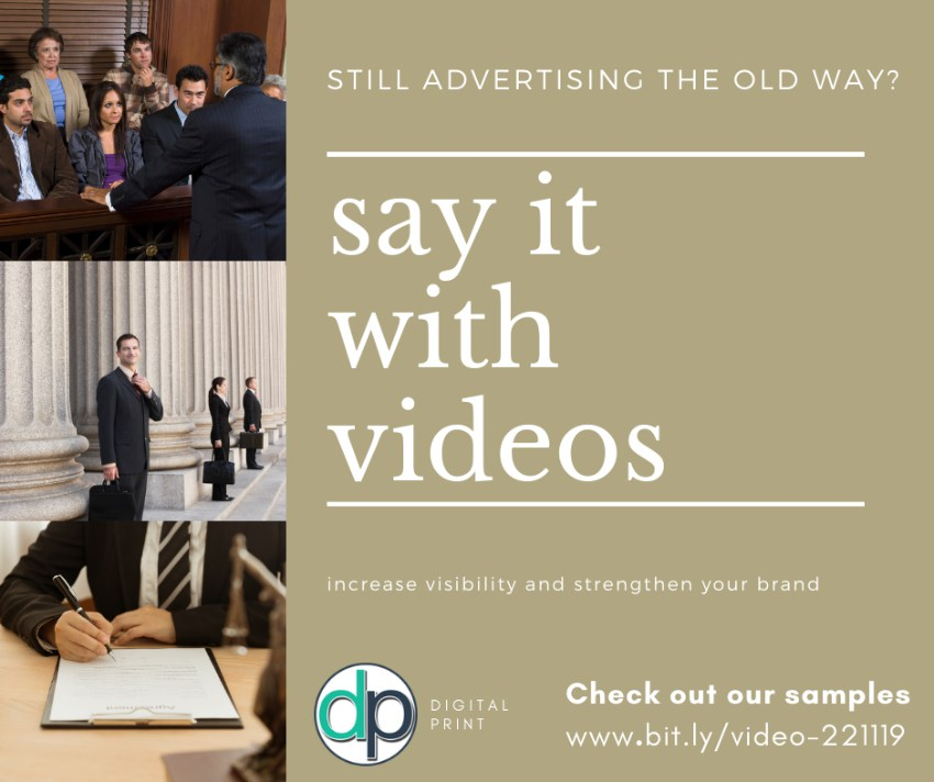 Advertise your Legal Agency with Videos for Social Media and Website