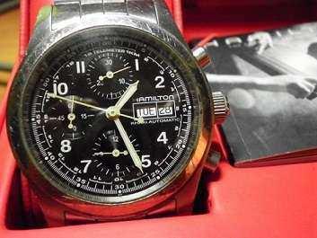 Hamilton Khaki Field Automatic Chronograph ETA 7750 Day/Date (Collect