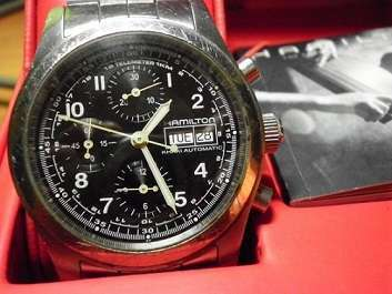 Hamilton Khaki Field Automatic Chronograph ETA 7750 Day/Date (Collect