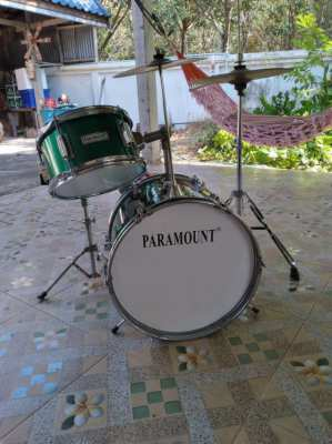 Paramount kid's proper drum kit