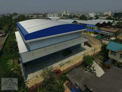 Rental warehouse + size office space 1,540 sqm. Chalermprakiet 79