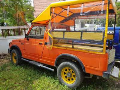 Suzuki Jeep Converted For Safari Or Guest Pick Ups