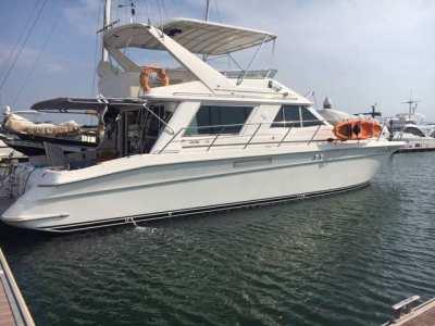Sea Ray 550 Sedan Bridge 57 ft
