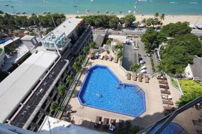 Make this view yours! Markland Pattaya Beach Front Condo For Sale