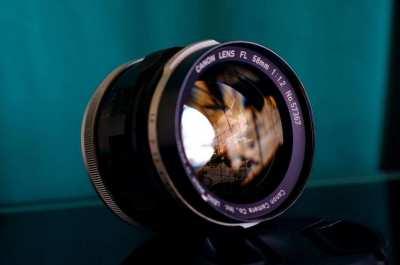 Canon 58mm f/1.2 MF Lens (Sony, MFT, m4/3, Nikon 1)