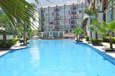 6th floor 1bdrm condo short or long term rent in Pattaya dark side