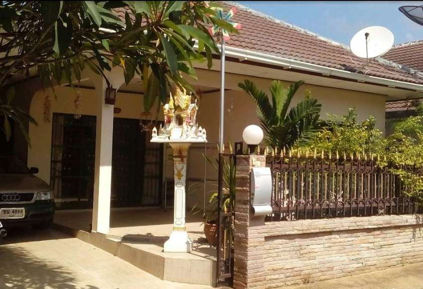 Occasion ! Nice small detached bungalow on Pattaya´s darkside! Quiet!