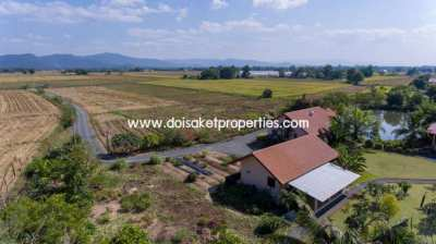 (HS188-04) Stunning property  surrounded with rice fields and a 360 de