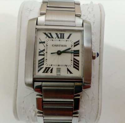 Cartier Tank Francaise  automatic type 2302 (large)