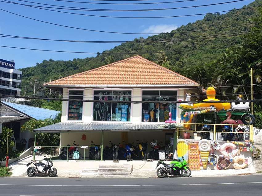 Phuket  Kata Karon Sale business rental motorcycle and beach things