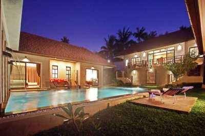 For Sale Balinese Style Villa Bangrak Koh Samui