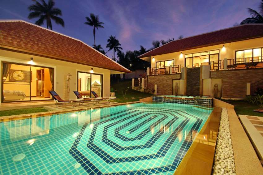 For Sale Balinese Villa 3 bedrooms in Bangrak koh Samui