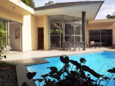 Modern poolvilla for rent long term