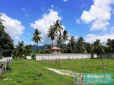 Nicely shaped land plot for sale in Samroiyod, less than 500m to beach