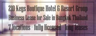 210-Keys Boutique Hotel & Resort Group Business For Sale