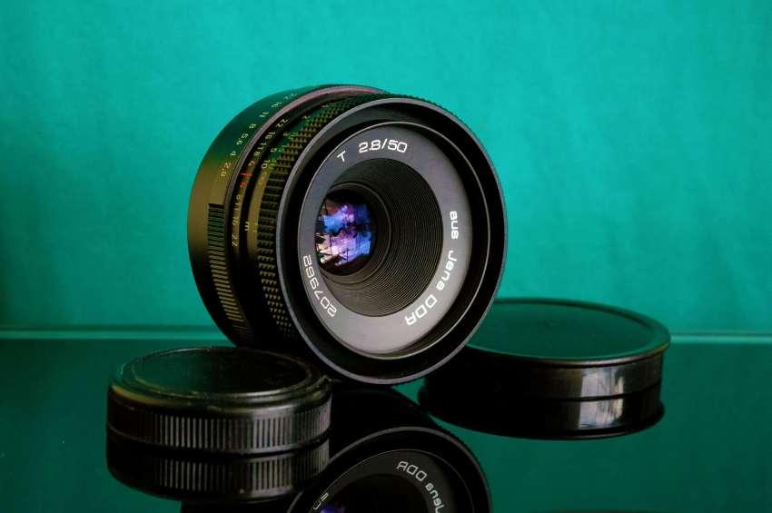 Carl Zeiss Jena Tessar 50mm F/2.8 M42 Lens