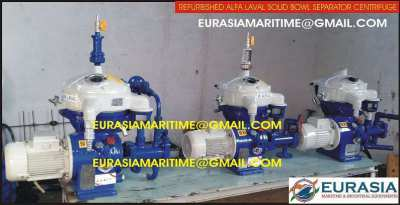 Reconditioned Alfa Laval oil separators MAB-103, MAB-104