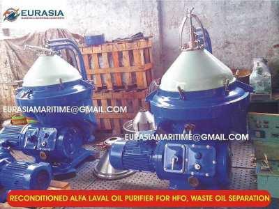Alfa Laval oil purifier, separator spares, ship spares