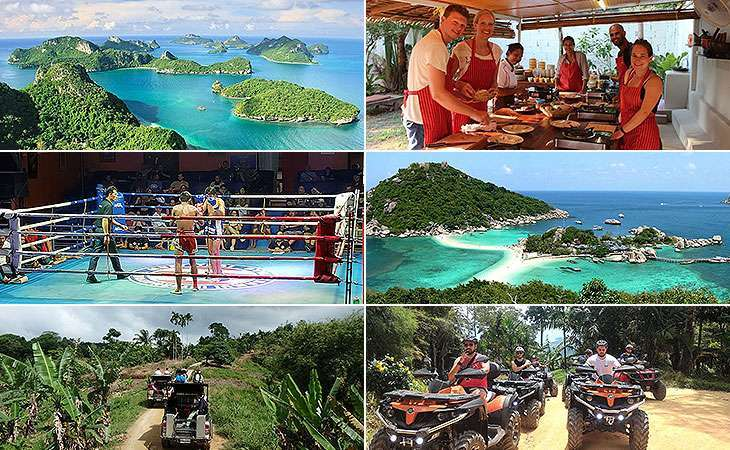 Live Booking Site for Travel on Koh Samui