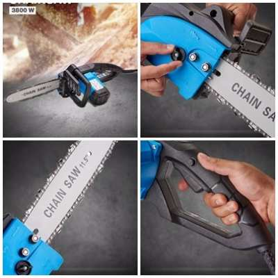 Electric Chain Saw Electric 1,200.- Kerry Shipping 350.- Save to destination.