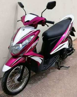 Yamaha Mio 125 Rent 1.500 baht a month ALL YEAR
