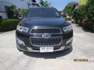 Excellent Chevrolet Captiva LTZ, 2012, 95000 km, 7 seater, E 85 petrol