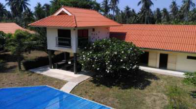 5 Buildings, Swimming pool on 6 Rai land for sale