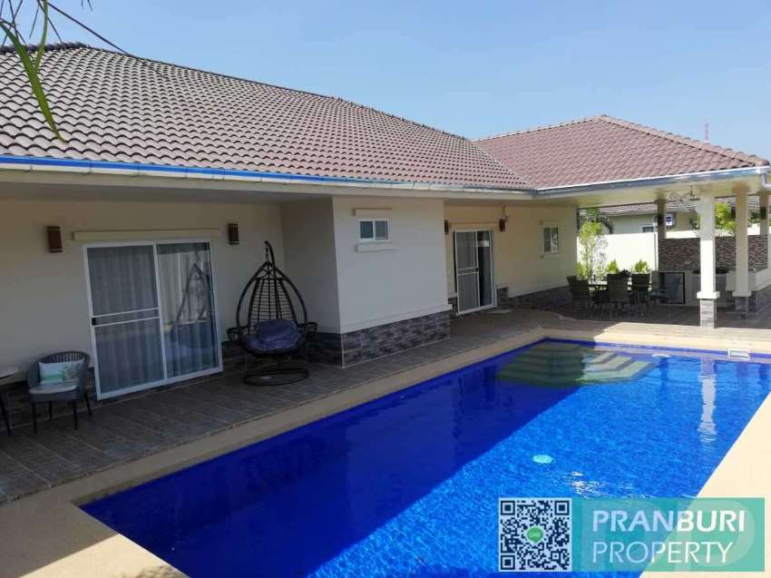 Newly completed large scale 3 bed pool villa 1KM to Khao Kalok beach