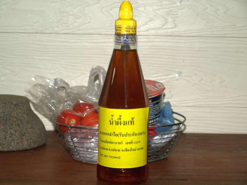 Organic Bee Honey From Longan 100% Pure 1 kl.