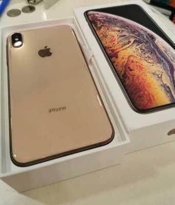 ขายจร้า.....IPhone XS Max 64gb สีทอง เครื่องศูนย์ไทย สภาพสวยๆไร้รอยอุปกรณ์แท้ครบ