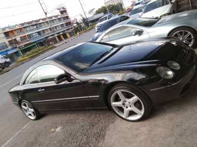 Mercedes CL 500 V8 306 PS