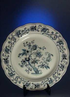 Antique Japanese Enamelled Ming Tree Dish C1940