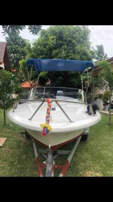 Fibreglass fishing / speed boat for sale