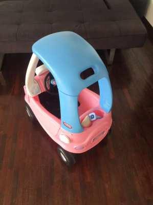 Little Tikes princess cosy pink car