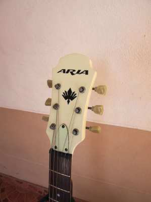 Aria TA-70 hollow body 335 style guitar